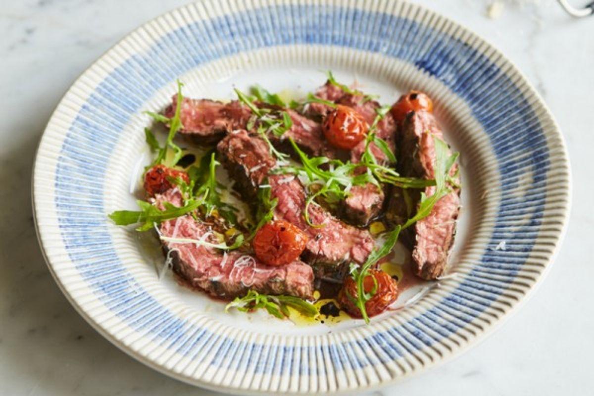Jamie Oliver's Steak tagliatela