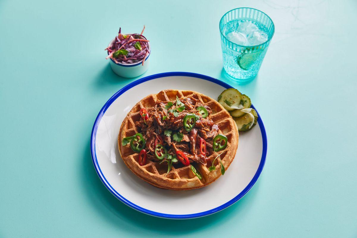 BBQ csirker a Jamie Oliver's Dinerben